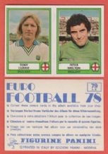 England Currie Leeds United & Shilton Nottingham Forest